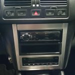 Aftermarket stereo in a Golf R